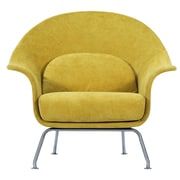 Corrigan Studio Smith Lounge Chair; Citrus Garden