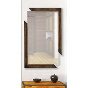 Majestic Mirror Artistic Rectangular Framed Wall Mirror