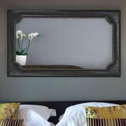 Majestic Mirror Rectangular Wood Framed Wall Mirror
