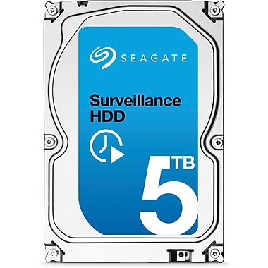 Seagate - Disque dur interne Surveillance, 3,5 po, 5 To (ST5000VX0001)