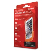 iSound Screen Armour HD Tempered Glass Screen Protector for iPhone 6 Plus/6S Plus (ISOUND-6908)