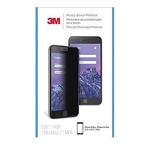 3M™ Privacy Screen Protector for Apple® iPhone® 6 Plus/6S Plus/7 Plus/8 Plus Privacy, Portrait (MPPAP010)