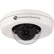 American Dynamics ADCI600-M111 Illustra 600 Wired Indoor Compact Mini-Dome Camera, 720p, White