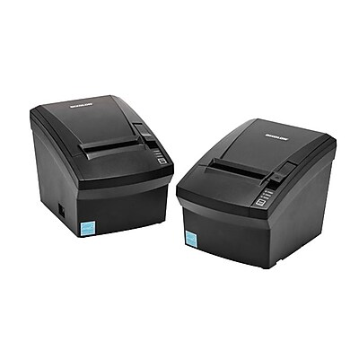 BIXOLON® SRP-330II 180 dpi Direct Thermal POS Receipt Printer, USB/Serial, Black