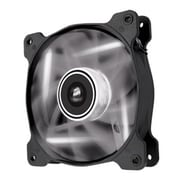Corsair® Air Series 120 mm Quiet Edition High Airflow LED Cooling Fan, 1500 RPM, White/Black (AF120)