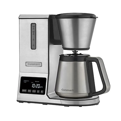 Cuisinart® PurePrecision™ 8 Cups Pour-Over Coffee Brewer, Stainless Steel (CPO-850)