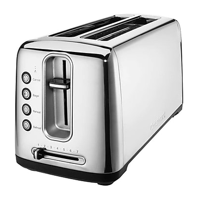 Cuisinart The Bakery Artisan Bread 2 Slice Toaster, Stainless Steel (CPT-2400)