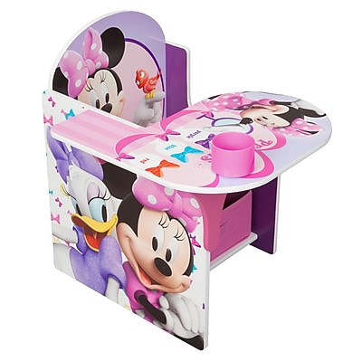 Delta Children Minnie Mouse Chair Desk with Storage Bin (TC85663MN) IM16D3230