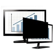 """Fellowes® PrivaScreen™ Blackout Privacy Screen Filter for 19.5"""" LCD Widescreen Notebook/Monitor, Black (4815801)"""
