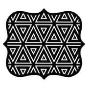 Fellowes® Designer Mouse Pad, Geometric Triangles (5919201)