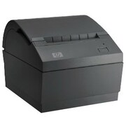 HP® Dual Serial/USB Single Station Thermal Receipt Printer, Black (BM476AT)