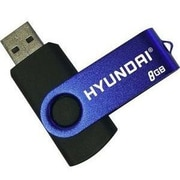 Hyundai® USB 2.0 High Speed External Flash Drive, 8GB (MHYU2B8G)