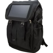 DPI/GPX-PERSONAL & PORTABLE® Black Solar Powered Phone Charging Backpack (IABB56B)