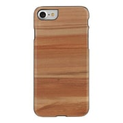 "Man&Wood® M7021B Wood/Polycarbonate Slim Case for 4.7"" Apple iPhone 7, Cappuccino/Black"