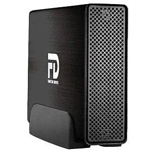 MicroNet Professional GFP5000EU3 5TB USB 3.0/eSATA Rugged External Hard Drive, Brushed Black