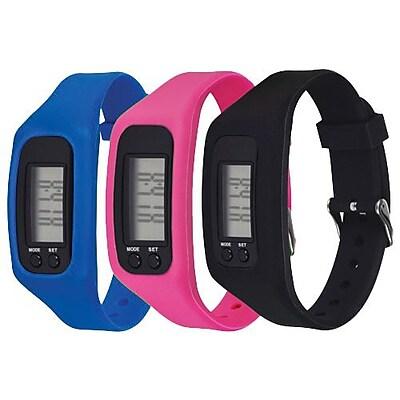 MyGuard Fitness Tracker, Pink, 12/Pack (MGFIT1TPK12) IM14T8782