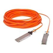 Netpatibles™ QSFP-H40G-AOC10M-NP 10 m QSFP+ Direct Attach Active Fiber Optic Network Cable, Blue