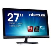 "Nixeus® PRO Vue WQHD Widescreen LED LCD Monitor, 27"", Black (NX-VUE27P)"