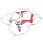 Riviera RC Voice Control Mini Quadraptor Toy Drone with Headset, White (RIV-D4V)
