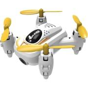 Riviera RC Micro Quadraptor Wi-Fi Drone with 3D App, White (RIV-FX21)
