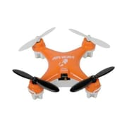 Riviera 2.4 GHz 6-Axis RC Pocket Quadcopter Toy Drone, Orange (RIV-YT320)