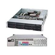 Supermicro® SuperChassis 2U Rack Mountable Server Chassis, Black (SC825TQ-563LPB)