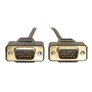 Tripp Lite 10' HD-15 Male VGA Monitor Replacement Cable, Black