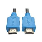 Tripp Lite HDMI Male/Male High Speed Cable, 3', Blue (P568-003-BL)