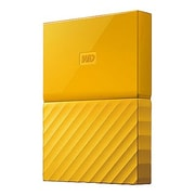 WD® My Passport USB 3.0 Portable External Hard Drive, 3TB, Yellow (WDBYFT0030BYL-WESN)