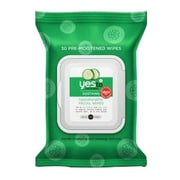 Yes To® Cucumbers Hypoallergenic Facial Wipes, 30/Pack (391028)