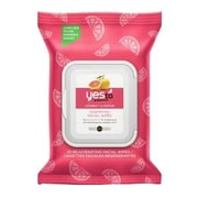 Yes To® Grapefruit Rejuvenating Facial Wipes, 25/Pack (6334107)