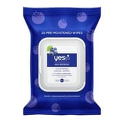 Yes To® Blueberries Cleansing Facial Wipes, 25/Pack (7331102)