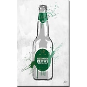 PicturePerfectInternational 'Drink Alexander Keiths' by PPI Studio Graphic Art on Wrapped Canvas