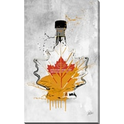 PicturePerfectInternational 'Drink Maple Syrup' by PPI Studio Graphic Art on Wrapped Canvas