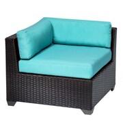 TK Classics Belle Corner Chair w/ Cushions; Aruba