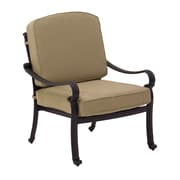 AIC Garden & Casual Deep Seating Chair w/ End Table
