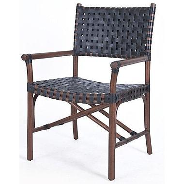 Kenian New Classics Malibu Arm Chair; Cocoa