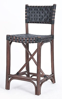 Kenian New Classics Malibu 24'' Bar Stool; Cocoa