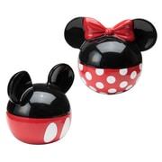 Vandor Disney Mickey and Minnie Mouse Ceramic Salt and Pepper Set