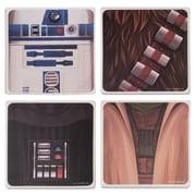 Vandor Star Wars  4 Piece Ceramic Coaster Set