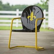 LeighCountry Fleur De Lis Retro Chair