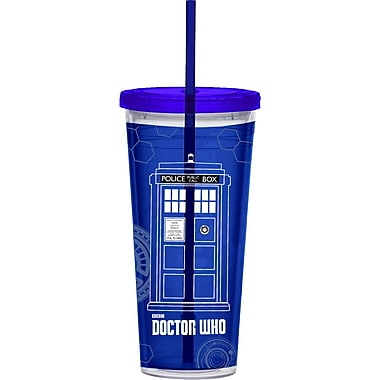Vandor Doctor Who 24 Oz. Acrylic Travel Tumbler