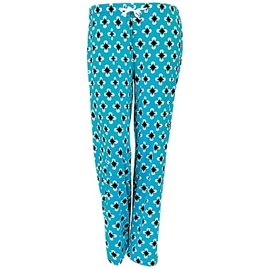 Hello Mellow Lounge Pants, Small, Turquoise/White/Black Fits Size 4-8