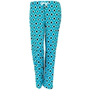Hello Mellow Lounge Pants, Turquoise/White/Black