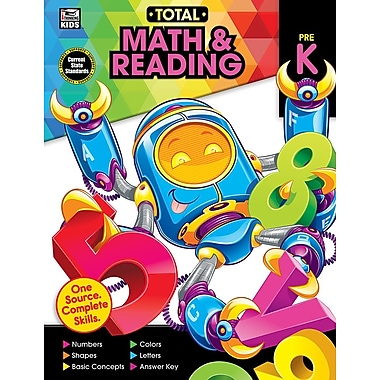 Carson-Dellosa Publishing Total Math and Reading Workbook