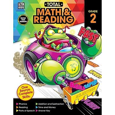 Carson-Dellosa Publishing Total Math and Reading Workbook, Grade 2 [eBook]