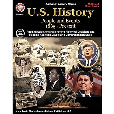 Mark Twain Media U.S. History 1865-Present Workbook, Grades 6 - 12 [eBook]