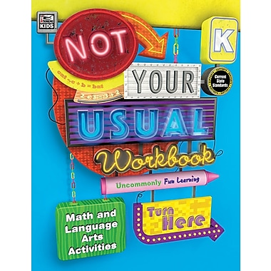 Carson-Dellosa Publishing Not Your Usual Workbook, Grade K [eBook]