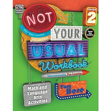 Carson-Dellosa Publishing Not Your Usual Workbook, Grade 2 [eBook]
