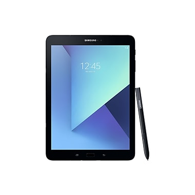 Samsung - Tablette Galaxy Tab S3 SM-T820NZKAXAC 9,7 po, 2,15 GHz + 1,6 GHz Qualcomm APQ 8096, 32 Go Flash, 4 Go RAM, Android N,